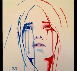 Marianne en pleurs